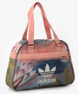 bb41cb13c8f77 Adidas Bowling Bag duża miejska torebka w kwiaty - 5627541870 ...
