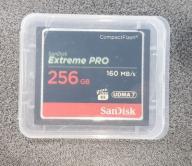 Sandisk 256Gb Extreme PRO CF Supercena! NOWA GW.