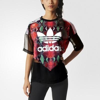 bluza adidas damska prześwitująca