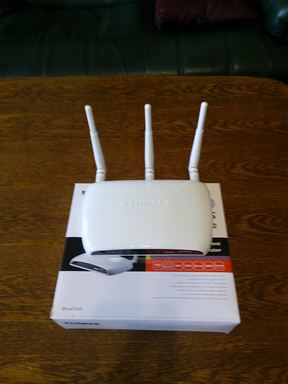 Edimax 450Mbps 11n Wireless Router (BR-6675nD)