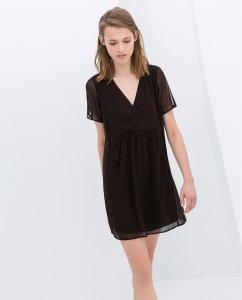 ac8b20fbfb Zara zwiewna sukienka M - 6373886373 - oficjalne archiwum allegro