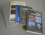 Pakiet 5 książek o fotografii (m. in. Feininger)