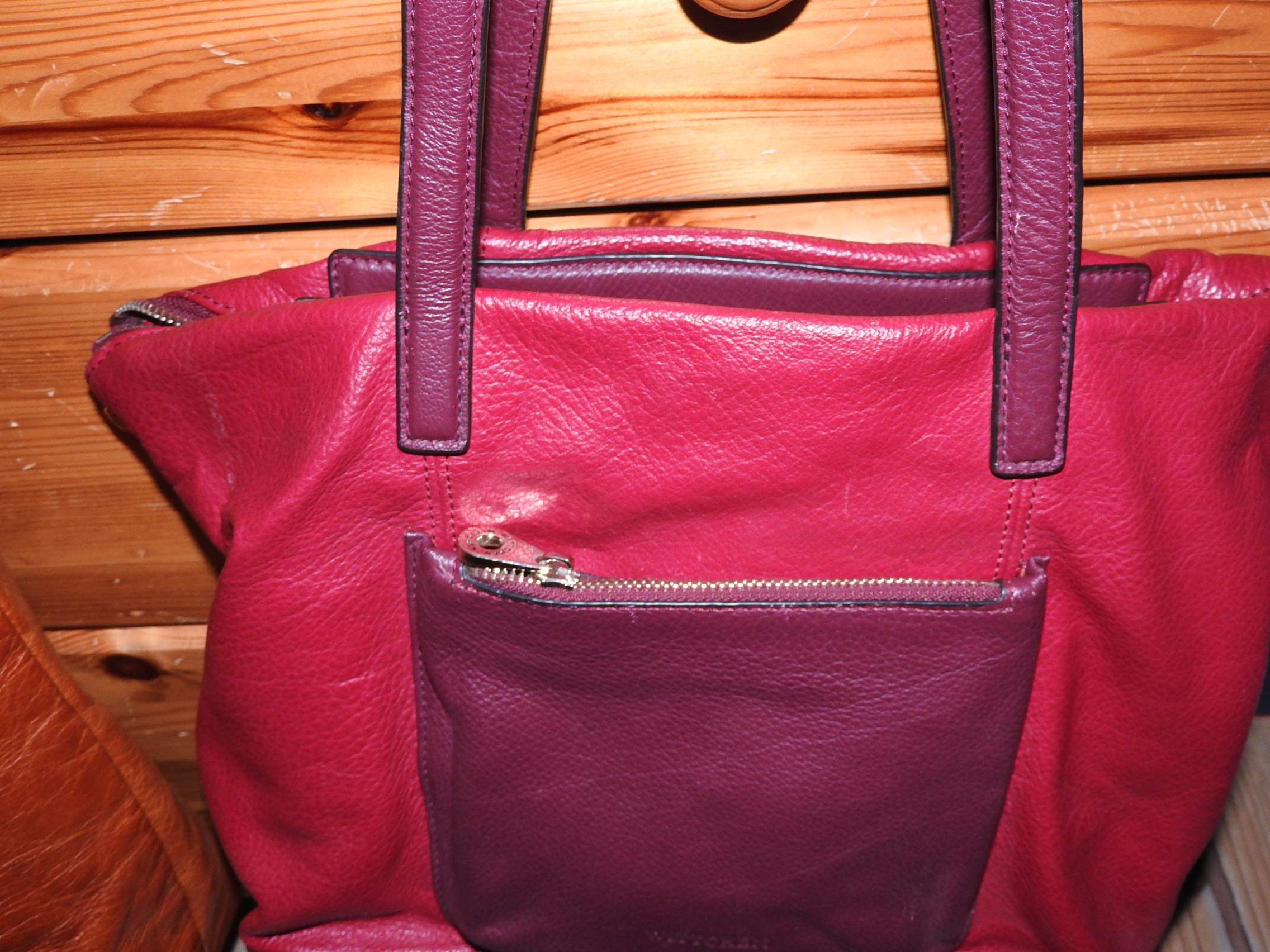 03b077bf91a44 torba ze skóry czerwona Wittchen - 7035740975 - oficjalne archiwum ...