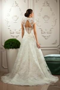76e0624712 Suknia ślubna 36 koronkowa Milana 2014 PIĘKNA! - 5165303575 ...