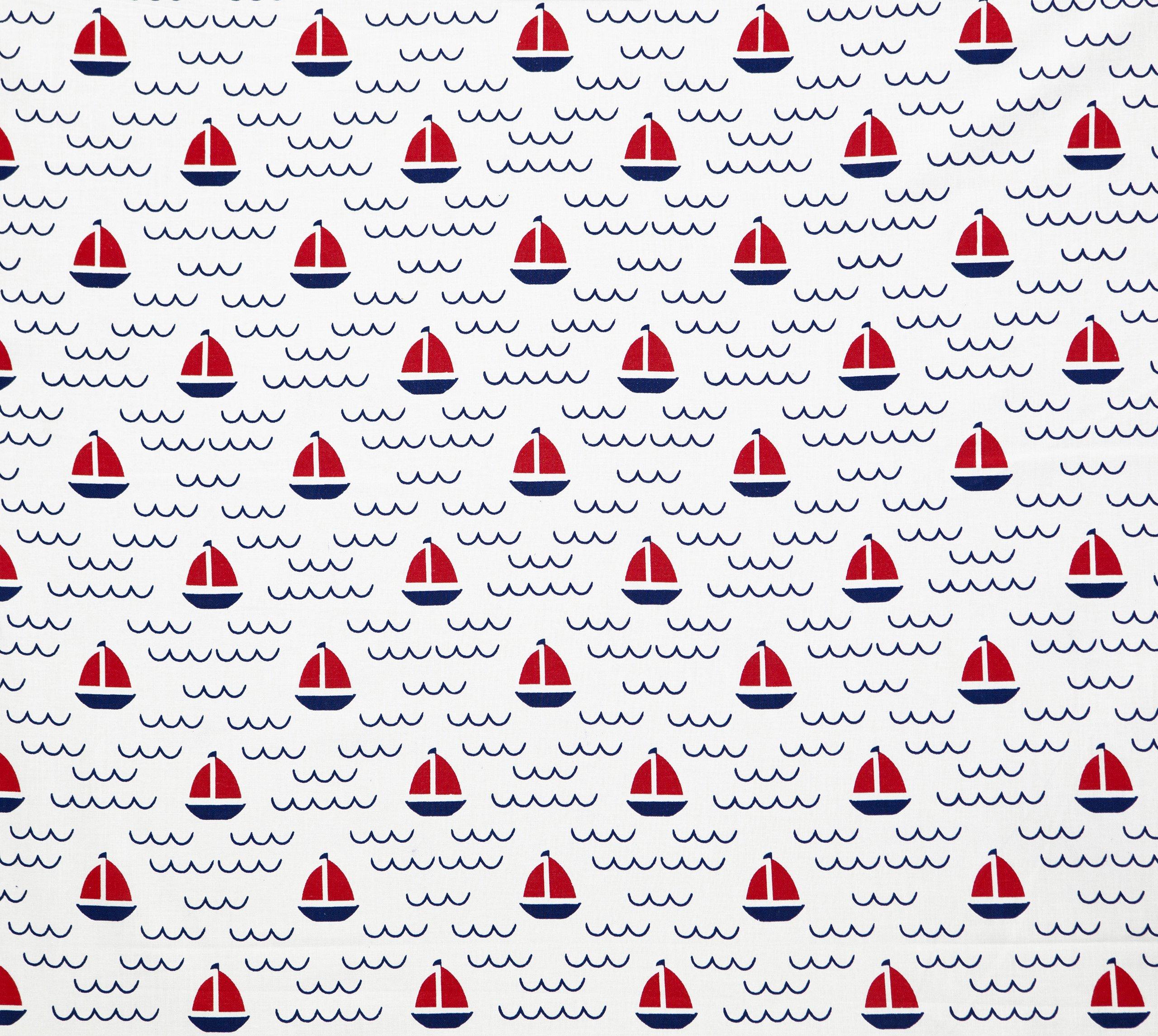 Tkanina 10x160 Bawełniana 121D Łodzie Marynarski
