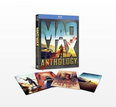 MAD MAX 1-2-3-4 [LEKTOR PL [4xBD+DVD] PREZENT [24h