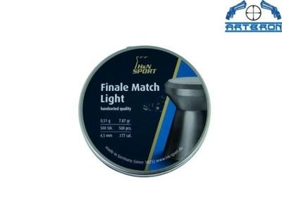 ŚRUT H&N FINALE MATCH LIGHT 4,5 MM 500 SZTUK