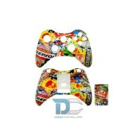 XBOX 360 obudowa do kontrolera Sticker Bomb