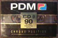 PDM CD X 90 - CHROME - TYPE II 90 min NOWA FOLIA
