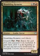 MTG 2x Shambling Remains (Uncommon)