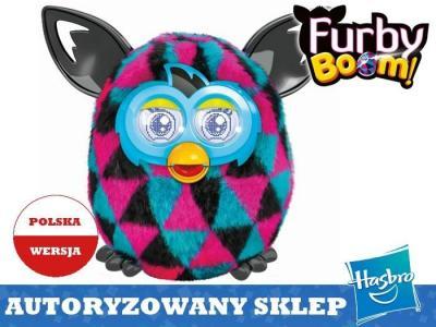 Hasbro Furby Boom Sunny Trojkaty Mowi Po Polsku 5347420446 Oficjalne Archiwum Allegro