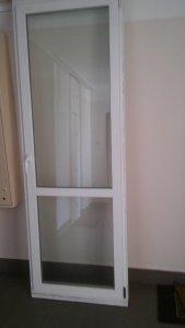 Okno Balkonowe Jednoskrzydłowe Plastikowe 250x85