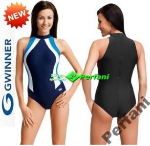 Gwinner Kostium Kąpielowy Model Kayla GrafitPink Ceny i