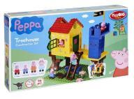 ND17_ZA-78015 Klocki BIG Świnka Peppa Domek na drz