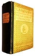 LAROUSSE DICTIONNAIRE ILLUSTRE 1924 WOW 2