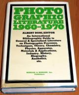 Photographic Literature 1960-1970, Albert BONI