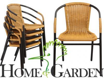 Krzesło Ogrodowe Tarasowe Balkonowe Krzesła Meble