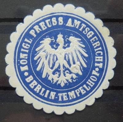 ZALEPKA -  BERLIN - TEMPERLHOF