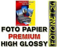100x FOTO FOTOGRAFICZNY PAPIER GLOSSY A4 180g HQ