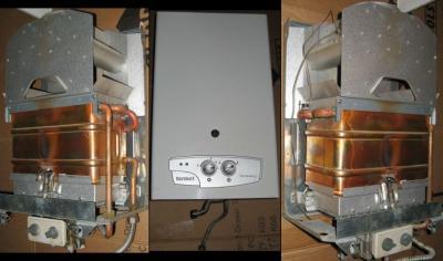 Bardzo dobra Piecyk gazowy Termet G-19-01 TermaQ +montaż części - 5997481230 CB86