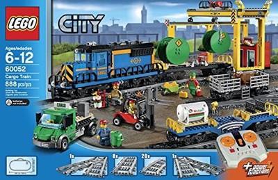 Lego 60052 City Pociąg Towarowy Zdalnie Sterowany 6603156307