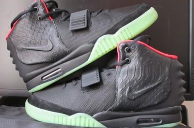 OSTATNIE 4! Nike Yeezy 2 Black czarne buty wysokie