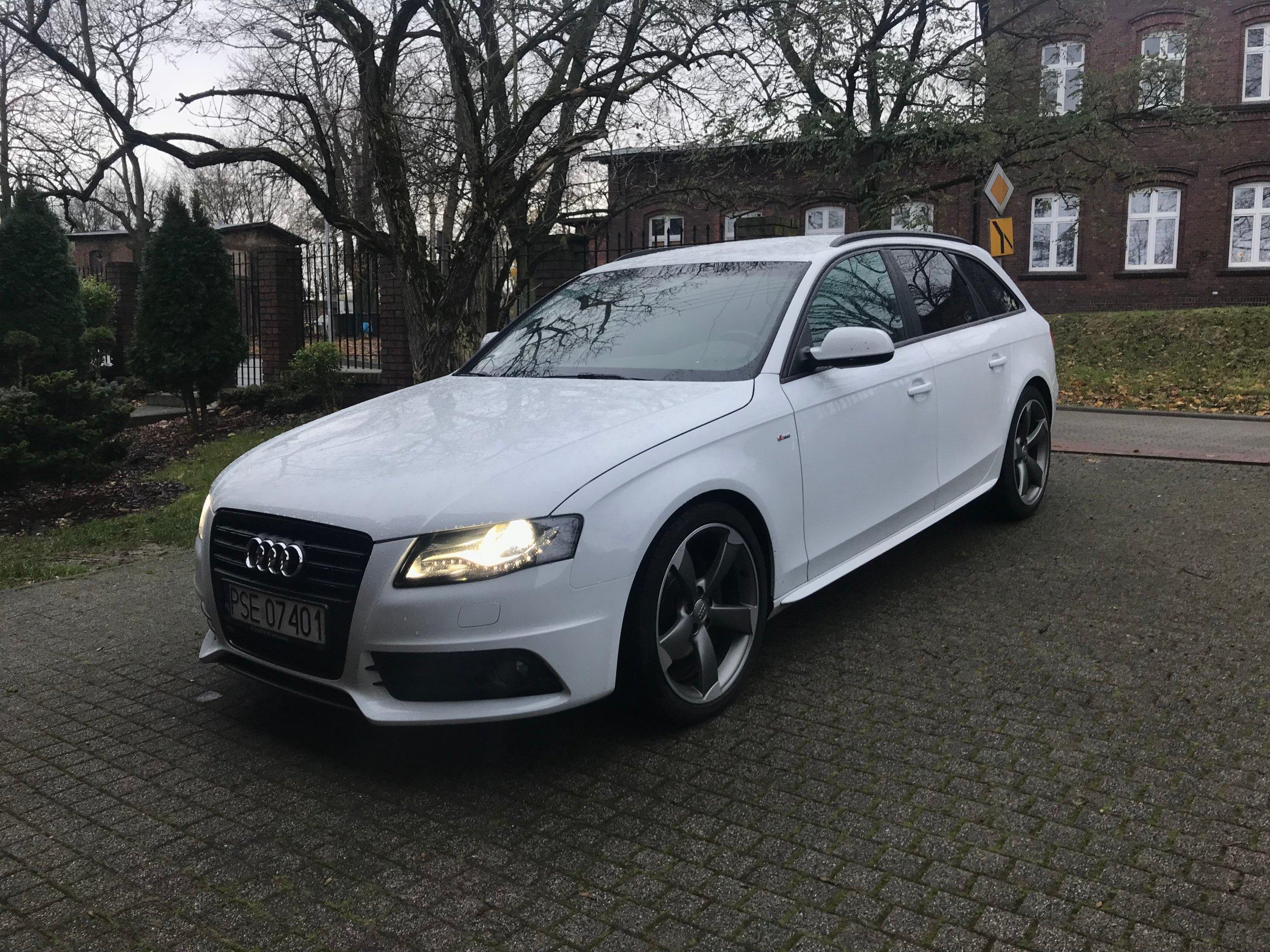 Audi A4 B8 Sline Avant Pierwszy Właściciel 7066712124 Oficjalne