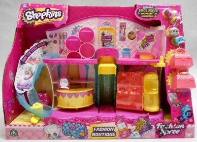 SHOPKINS Fashion Boutique Accessories Playset. Shopkins Toys