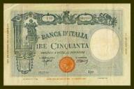 Włochy 50 lire 1943r. P-65 VF