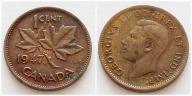 Kanada 1 cent 1947r