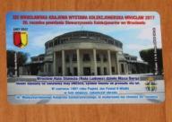Karta XIX Karajowa Wystawa Kolekcjon. WROCŁAW 2017