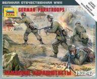 ZVEZDA German Paratroops 1939-42