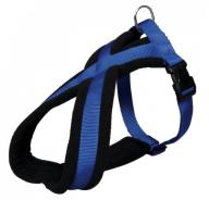 Trixie Uprząż Premium S-M 40-60cm/20mm niebieska [