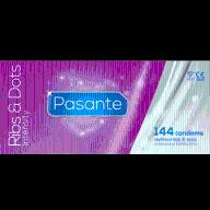 Prezerwatywy Pasante Ribs&Dots Intensity 144