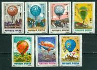 WĘGRY** 200 lat baloniarstwa Mi 3600-06