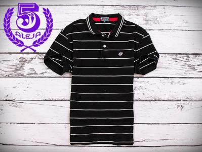 9d5ec61c0cf26 Ralph Lauren Koszulka Polo Męska Paski Czarna *M* - 5332704988 ...