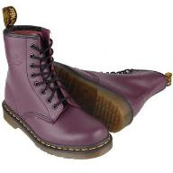 BUTY GLANY FIOLETOWE MARTENS R.40 :)