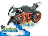 KTM 1190 RC8 SKALA 1:10 MOTOR MODEL WELLY - ŁÓDŹ