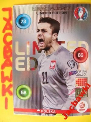 Panini Euro 2016 Karta Limited Fabianski Polska 6291998953 Oficjalne Archiwum Allegro