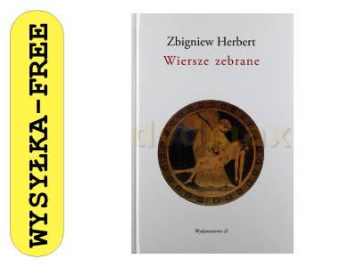 Wiersze Zebrane Zbigniew Herbert Książka 6617138485