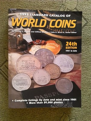 WORLD COINS KATALOG MONET 1997