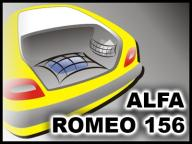 SIATKA DO BAGAŻNIKA - ALFA ROMEO 156 SEDAN 97-07
