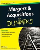 Bill Snow Mergers and Acquisitions For Dummies