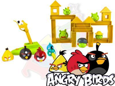 Mega Zestaw Angry Birds Gra Klocki Wsciekle Ptaki 2918900225 Oficjalne Archiwum Allegro