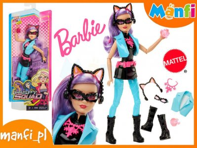 Mattel BARBIE Lalka TAJNA AGENTKA Diament SPY