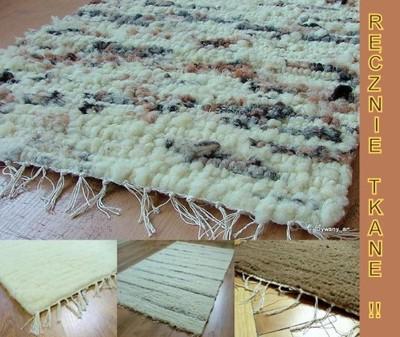 Dywan Dywany Wełniane Ręcznie Tkane 80x150 Cm 5416880592