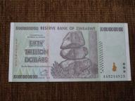 890.ZIMBABWE 50 000 000 000 000 DOLARÓW UNC-