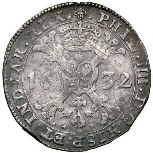 1261. Brabant, Talar 1632, st.3
