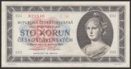 CSRS (Czechosłowacja) - 100 koron - 1945 - UNC -