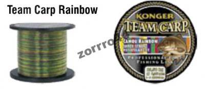 żyłka karpiowa RAINBOW! KONGER 0,28mm/10kg 1000m